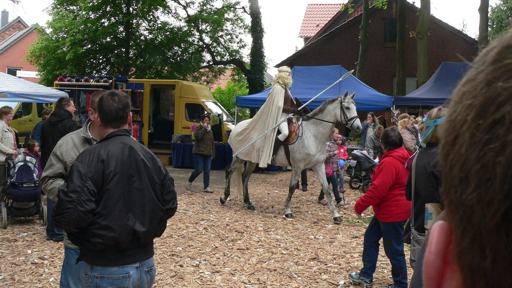 www.gelbesblatt.info der Schimmelreiter besuchte die 800-Jahr-Feier