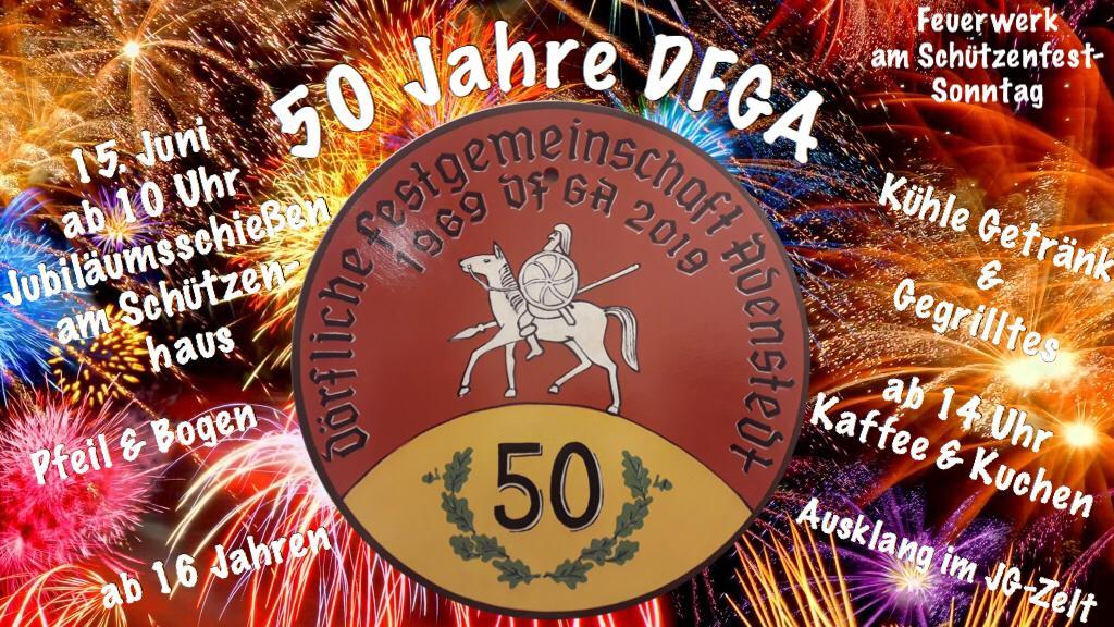 www.gelbesblatt.info Jubiläumsschiessen 50 Jahre DFGA