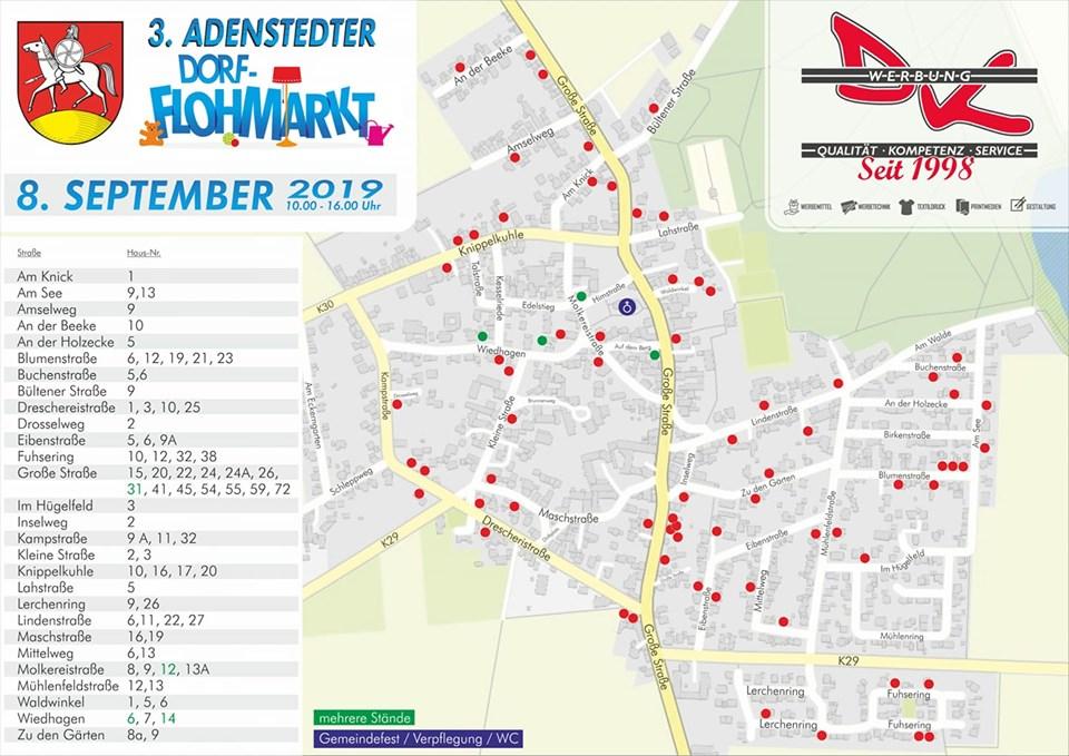 www.gelbesblatt.info Gemeindefest an der Kirche & 3. Dorfflohmarkt in Adenstedt
