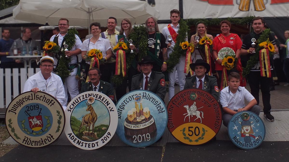 www.gelbesblatt.info Die Könige des Schützenfest 2019